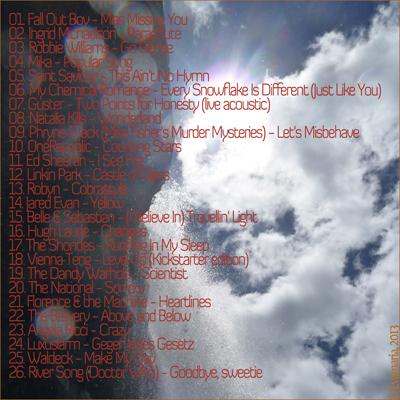 2013 mix - tracklist